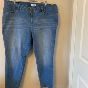 Skinny / Stretch / Jeans / Light Wash
